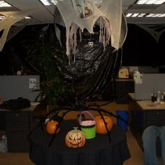 find this pin and more on 20 halloween office theme ideas halloween decorations