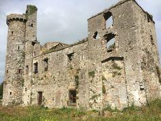 Fethard Castle. Fethard-on-Sea. Hook Peninsula. Co. Wexford. Ireland