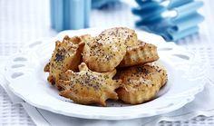 Παιδικά τυρομπισκοτάκια Cheese Biscuits, Kitchen Hacks, Bagel, French Toast, Goodies, Bread, Breakfast, Easy, Desserts