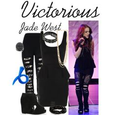 Victorious #Victorious #ElizabethGillies #JadeWest #Elizabeth #Gillies #Jade #West