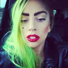Recent picture of Lady Gaga 3/2013