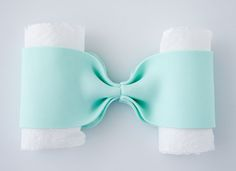How to make a gum paste bow 9