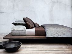 Calvin Klein Home Acacia King Duvet Cover, Nightshade