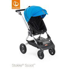 Kit de Estilo Stokke ® Scoot Racing Range Carreras azul