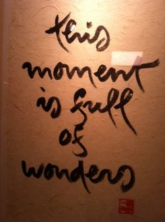 Thich Nhat Hanh's Live, Meditative Calligraphy Will Absolutely Inspire You (PHOTOS)