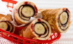 strawberry banana nutella pancake burrito recipe
