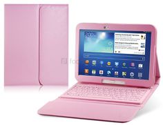 Protect your Samsung Galaxy Tab 10.1 from scratches and dust by ordering this Faux leather flip case with Bluetooth keyboard from Focalprice for £19.25.