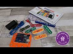 Snapino is a new product from the Snap Circuit range. It includes an Arduino UNO development board that works with Snap Circuits components. Circuit Components, Snap Circuits, Arduino Programming, Electronic Kits, Kids Electronics, Stem Learning, Development Board, Project 4, Working With Children