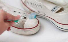Jevais enfin pouvoir nettoyer facilement mes chaussures !