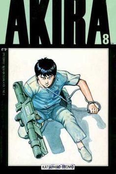 Akira 8 - Katsuhiro Otomo - Gun - Boy - Jump Suit - Bag - Katsuhiro Otomo