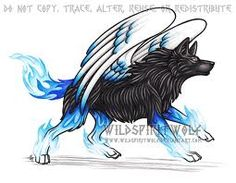 awesome drawing of awolf
