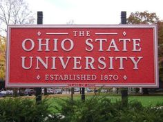 Started undergrad here - The Ohio State University in Columbus, OH Buckeyes Football, Ohio State Football, Ohio State University, Ohio State Buckeyes, American Football, College Football, Oklahoma Sooners, Marshall University, The Buckeye State