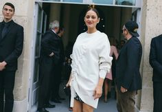 #StreetStyle   Side-Eye of the Year: The Guy Checking Out Marion Cotillard