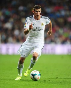 Gareth Bale, he scored some very important goals at the end of the season. Good job mate.