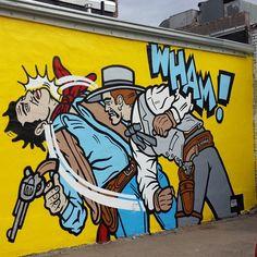 Amazing street art in Denver's #RiNo art district. #Denver #5280