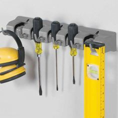 Rangement mural outils - ON RANGE TOUT Support Mural, Chiffons, Tools, Products, Natural Rubber, Broom Handle, Instruments, Gadget