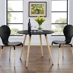 LexMod - Track Circular Dining Table