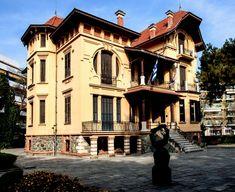 """Έκθεση: """"To Pikap Community – Art In Thessaloniki – – Casa Bianca"""" Crete Greece, Thessaloniki, Abandoned Mansions, Macedonia, Community Art, Art Nouveau, Sweet Home, Greek, Places To Visit"""