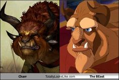 Charr (Guild Wars 2) Totally Looks Like The Beast (Beauty and the Beast)