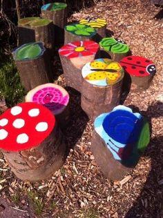 www.kommee.com | Buitenspelen | Vrolijke kleuren en natuur op het plein