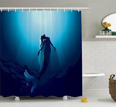 Mermaid Shower Curtain $25.95