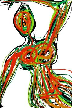 Body abstract #health #anatomy #fitness textile print art design #LAMONIQUEStylez #designer