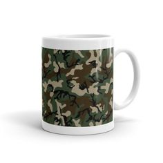 American Woodland Camo Mug