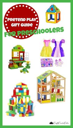 craftcreatecalm, 2015 holiday gift guide, pretend play gift guide,