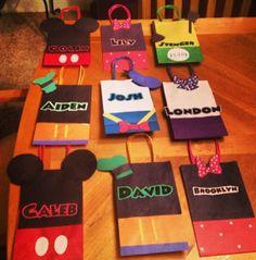mickey party bags :-) Meagan Evans