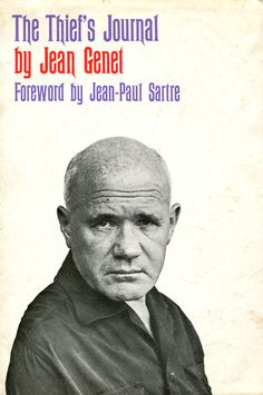 The Thief's Journal by Jean Genet. Cover design by Roy Kuhlman. Grove Press. www.roykuhlman.com