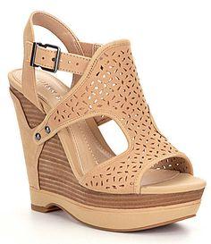 Gianni Bini Tulsah Wedge Sandals #Dillards