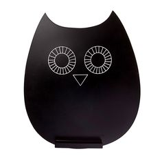 £6.99 RJB Stone Owl Chalkboard-Hallmark UK