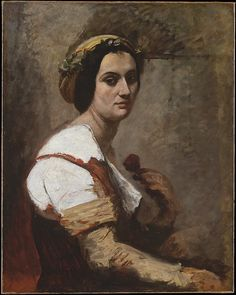 Camille Corot (French, Paris 1796–1875 Paris).Sibylle, ca. 1870. The Metropolitan Museum of Art, New York. H. O. Havemeyer Collection, Bequest of Mrs. H. O. Havemeyer, 1929 (29.100.565)