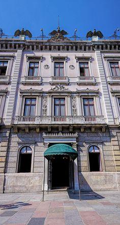 Palácio do Catete - Museu da República - Fachada - Catete - Arquitetura - Rio de Janeiro - Brasil