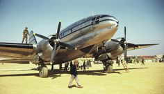 CNAC C-46 in China, late 1940s
