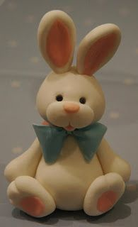 Rabbit Cake Topper