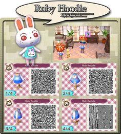 Ruby Hoodie QR Codes
