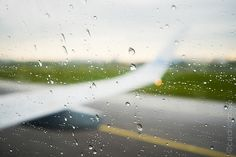 Ready for take off in the rain.......