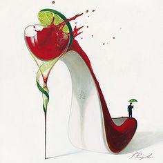 Frizzante Affiches par Inna Panasenko sur AllPosters.fr