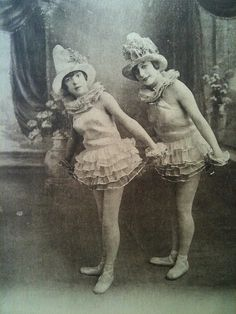 ♕ Vintage Costume Variations ♕  party girls