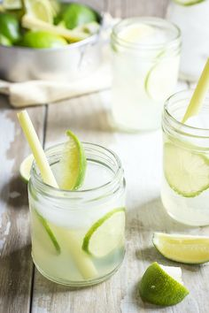 The perfect summer drink, lime and lemongrass cooler