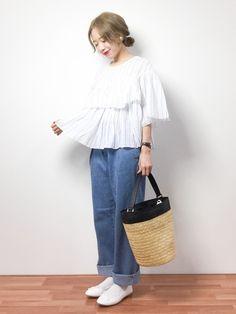 shop staff りっぴー│SHIPS for women Shirts  Looks - WEAR