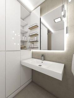 Minimalistická koupelna FLAIR - vizualizace
