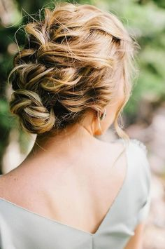 wedding updo bohemian - Google Search