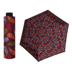 Doppler HAVANNA Sprinkle ultralehký skládací deštník s UV filtrem Barva Hnědočervená Women's Umbrellas, Ladies Umbrella, Sprinkles, Accessories, Design, Jewelry Accessories