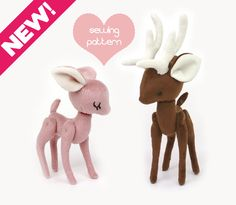 Bundle up for savings! Printable sewing pattern & instructions to make cute Pocket Deer, Reindeer, and Fawn stuffed animals. Perfect for Christmas, holiday gifts and stocking stuffers! Materials and finished plush are not included. Sewing Skill Level: Advanced beginner and up  Sew your own precious, handheld-size Deer and Reindeer plush stuffed animals with my detailed video and photo tutorial! Sewing with my patterns is stress-free; my customers say that my patterns are so easy to…