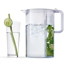 Digging this pitcher, because sometimes you just want the mint flavour without the mint.