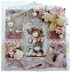 Crafteezee: Add a Diecut at The Ribbon Girl