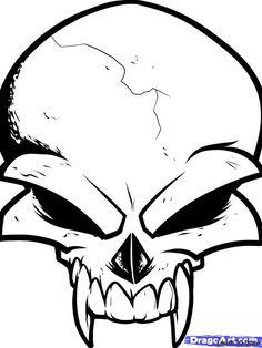 ideas tattoo simple skull design for 2019 Easy Skull Drawings, Small Easy Drawings, Easy Doodles Drawings, Tattoo Drawings, Simple Skull Drawing, Sick Drawings, Skull Tattoo Design, Skull Design, Skull Tattoos