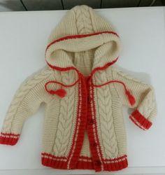 Жакетик для малышки - Вязание спицами для начинающих